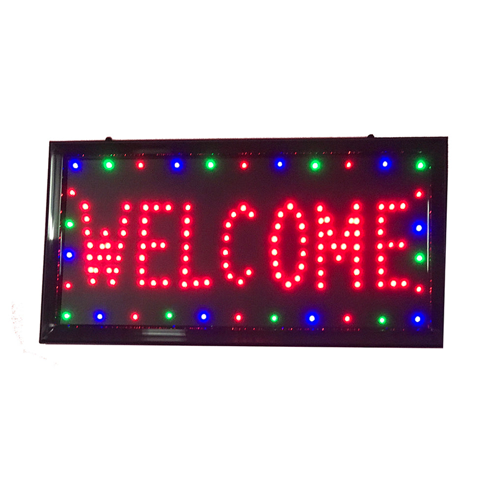 LED Foot Massage Sign with Border / U-47B2