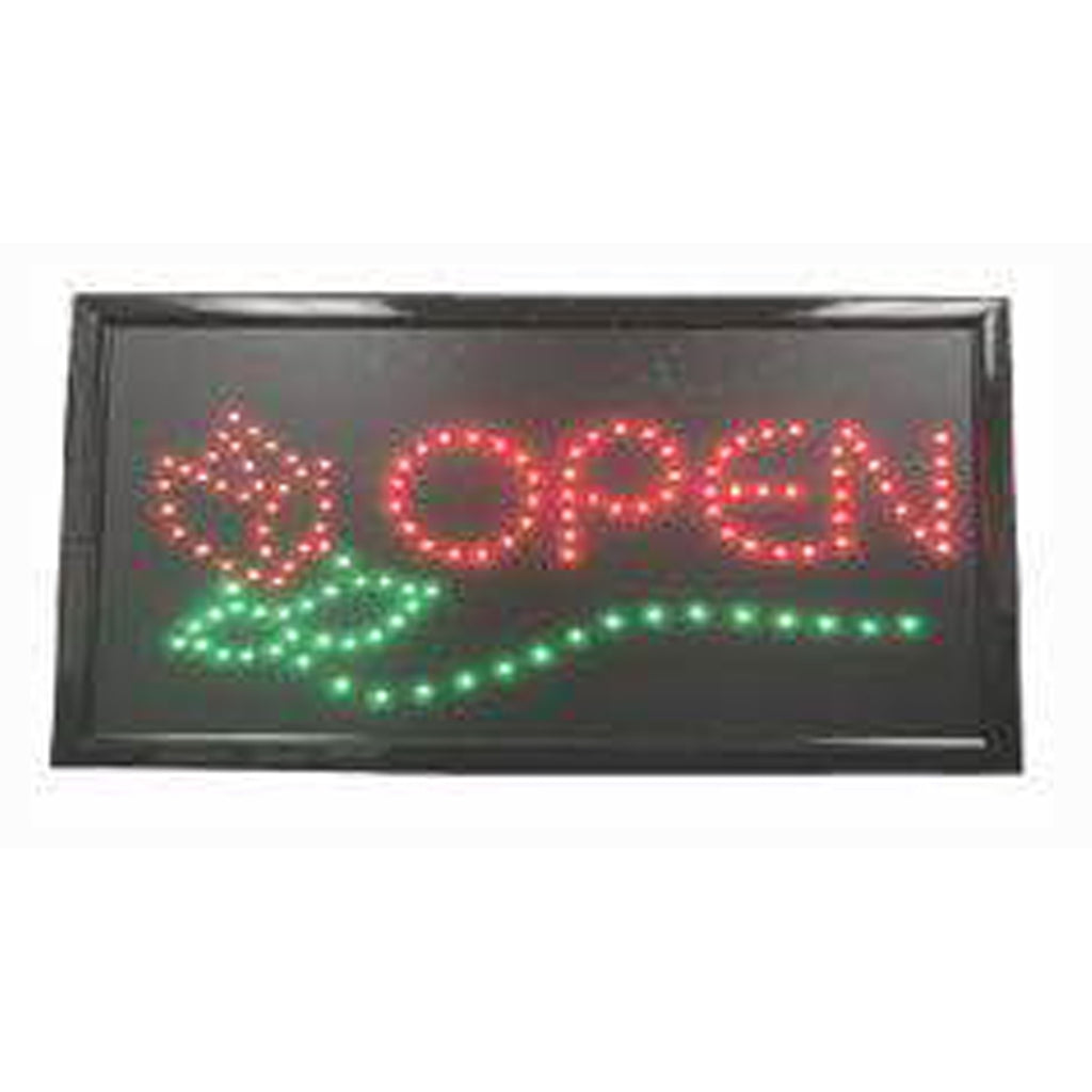 LED Foot Massage Sign with Border / U-47C8