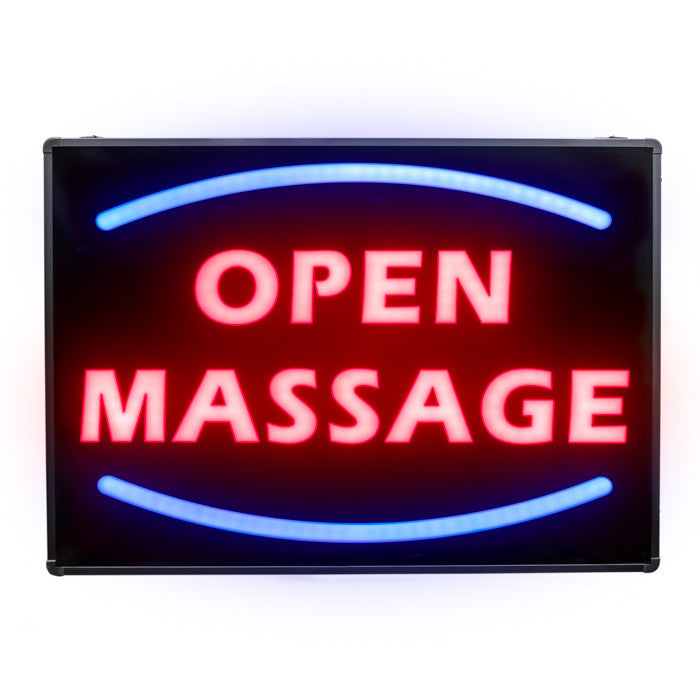 LED Open Massage Sign / U-50A3 - Acubest
