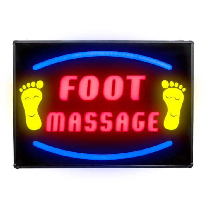 LED Foot Massage Sign / U-50A4 - Acubest