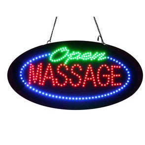 "LED ""Open Massage"" Sign / U-53"