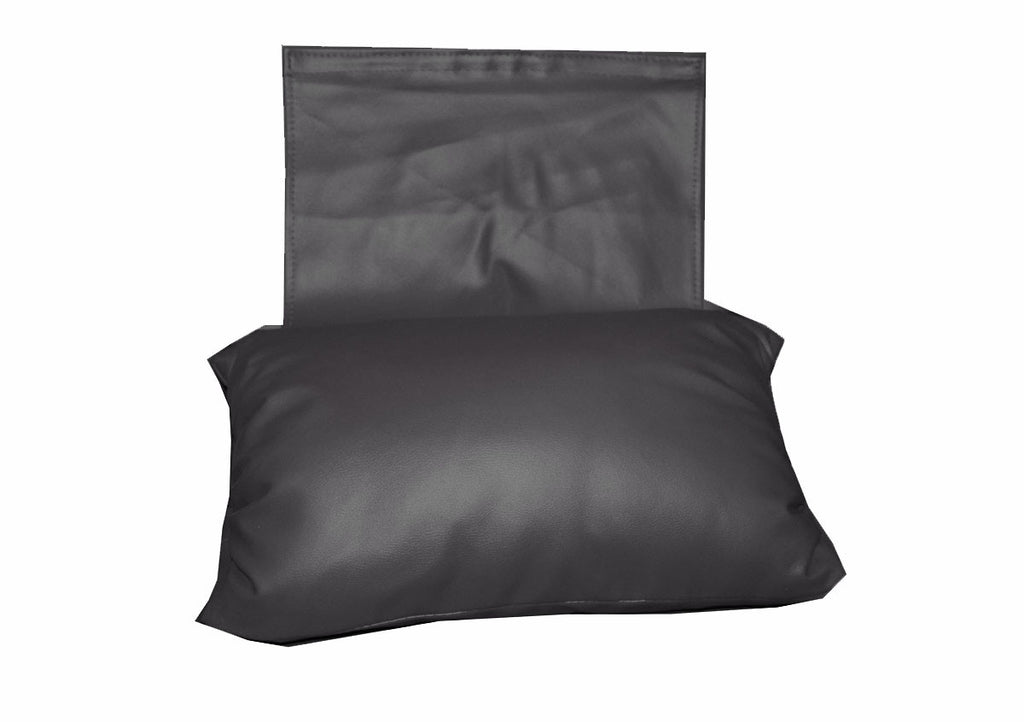Sofa Head Pillow (Black Vinyl) / W-27A2