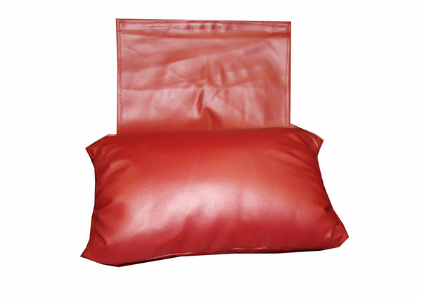 Sofa Head Pillow (Red Vinyl) / W-27A3