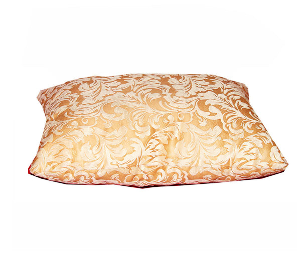 Sofa Lumbar Pillow (Yellow Floral) / W-27A4