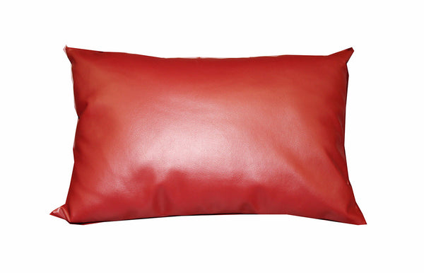 Sofa Lumbar Pillow (Red Vinyl) / W-27A8