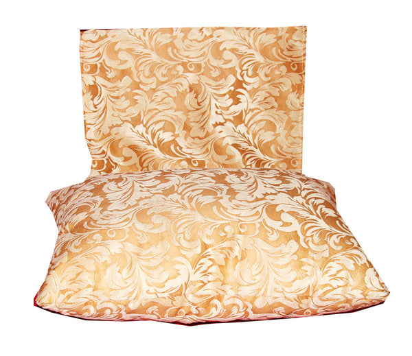 Sofa Head Pillow (Yellow Floral) / W-27