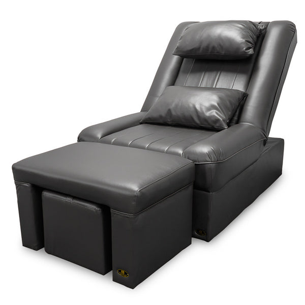 Foot Massage & Reflexology Reclining Sofa Set (Black) / W-39C3