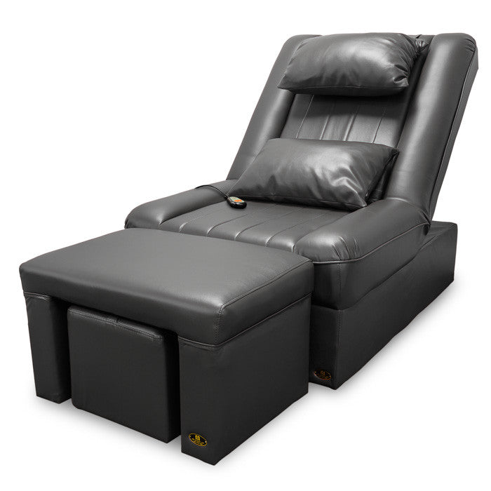 Electronic Foot Reflexology and Massage Sofa Set (Black) / W-39B1/ W-39A3 - Acubest
