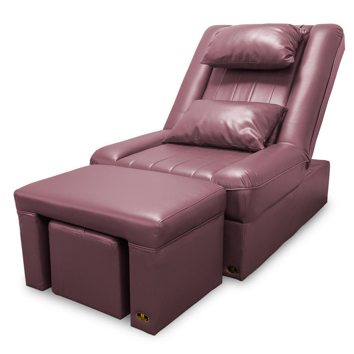 Foot Massage & Reflexology Reclining Sofa Set (Mauve) / W-39C5