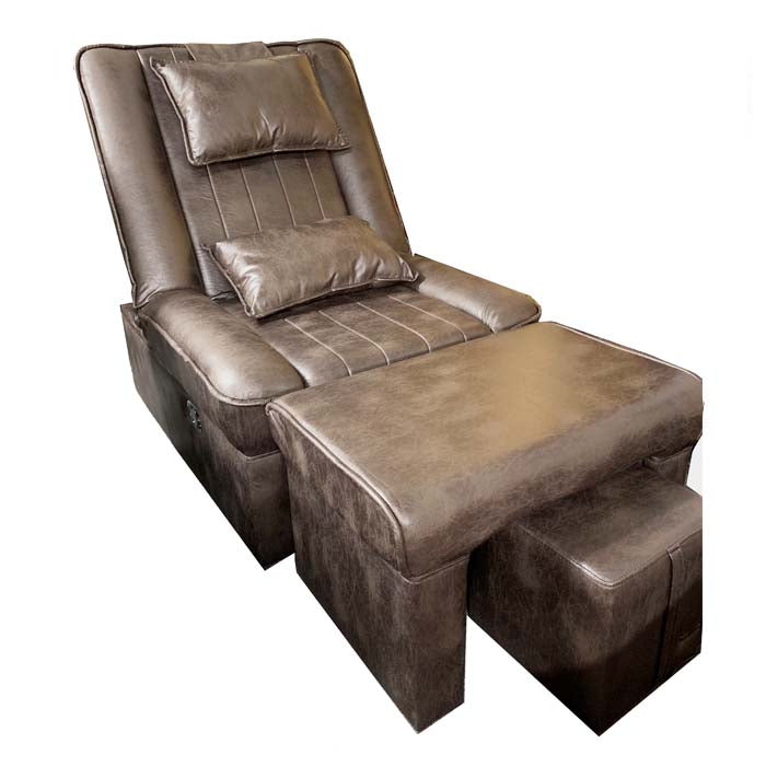 Foot Massage & Reflexology Reclining Sofa Set (brown) / W-39C9 - Acubest