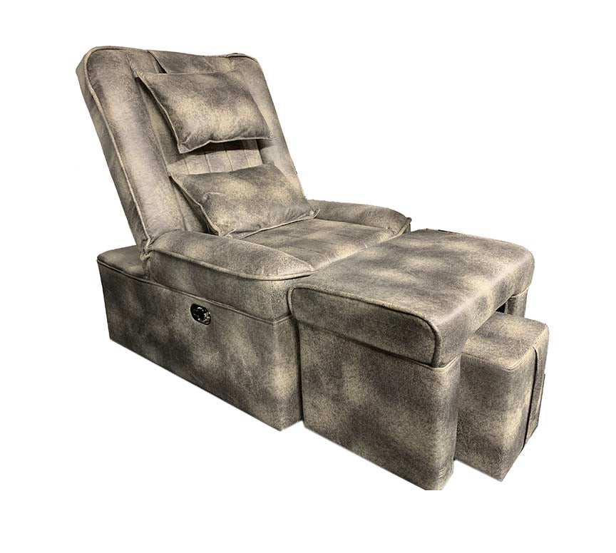 Foot Massage & Reflexology Reclining Sofa Set (GRAY&BLACK) /W-39D6-(Tall) - Acubest