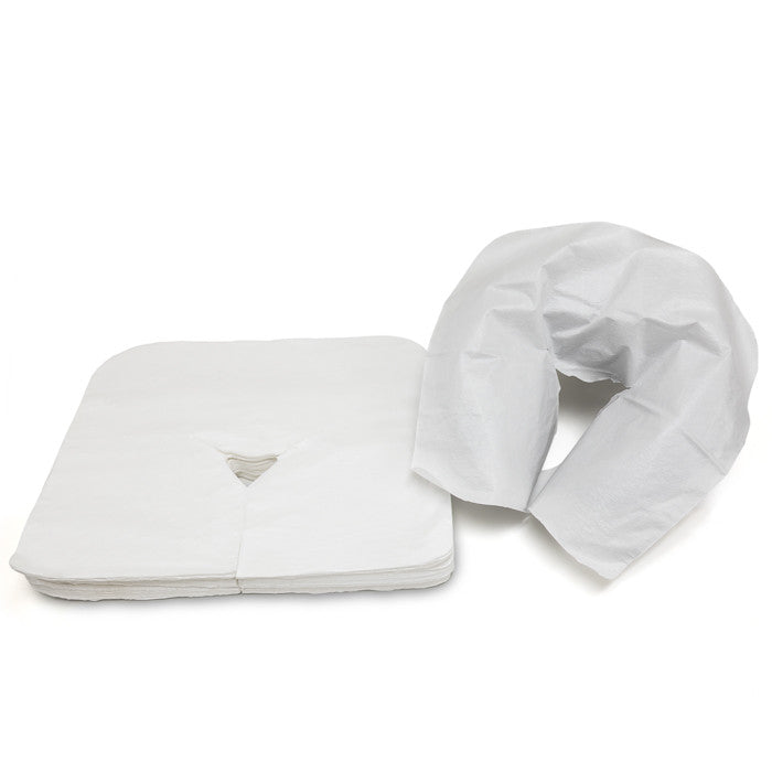 X-05A Disposable Face Rest Cover Sheet on Headrest