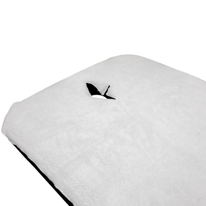 X-10B1 Fleece Massage Table Pad