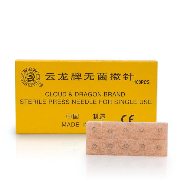 Cloud & Dragon Sterile Press Needles / Disposable Ear Tacks / A-009 - Acubest