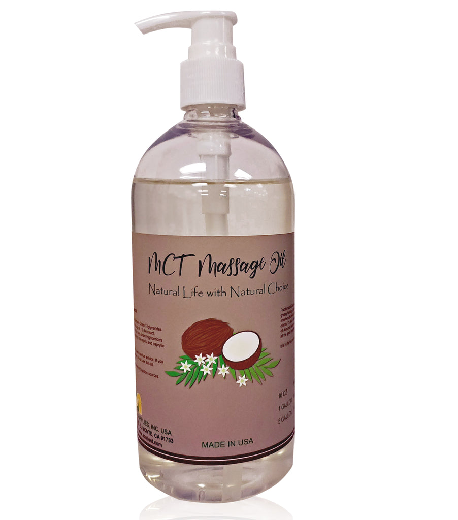 MCT | Coconut based MCT oil for massage/Plant-based oil for massage: HF081 - Acubest