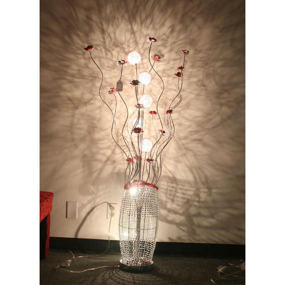 Table Lamp/ Aluminum Table lamp/ Flower Baskets lights/Item# HF152K11