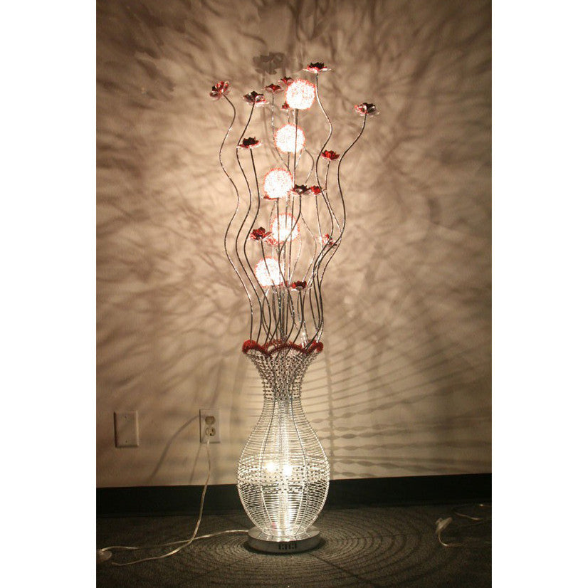 Flower Basket Aluminum Lamp / HF152K2