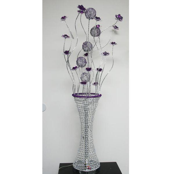 Floor Lamp/ Aluminum Floor lamp/ Flower Baskets lights/ Item# HF152K4A