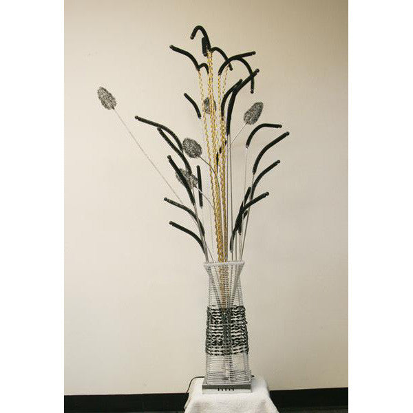 Floor Lamp/ Aluminum Floor lamp/ Flower Baskets lights/ Item# HF152K5 - Acubest