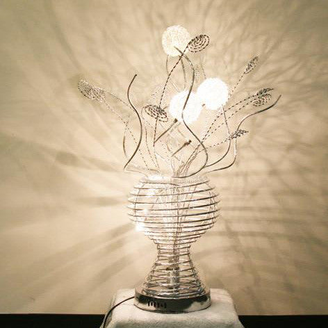 Table Lamp/ Aluminum Table lamp/ Flower Baskets lights/Item# HF152K6