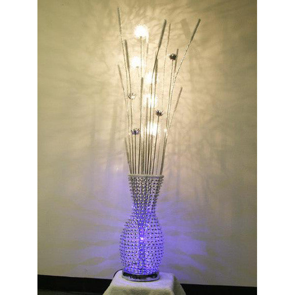 Floor Lamp/ Aluminum Floor lamp/ Flower Baskets lights/ Item# HF152K7