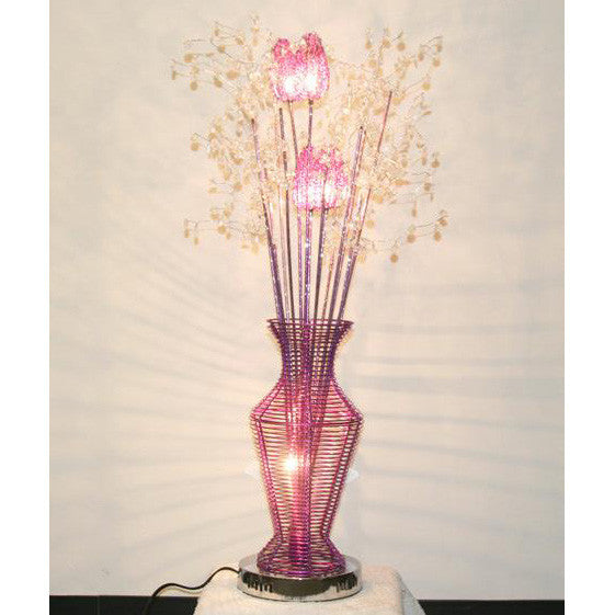 Table Lamp/ Aluminum Table lamp/ Flower Baskets lights/Item# HF152K8