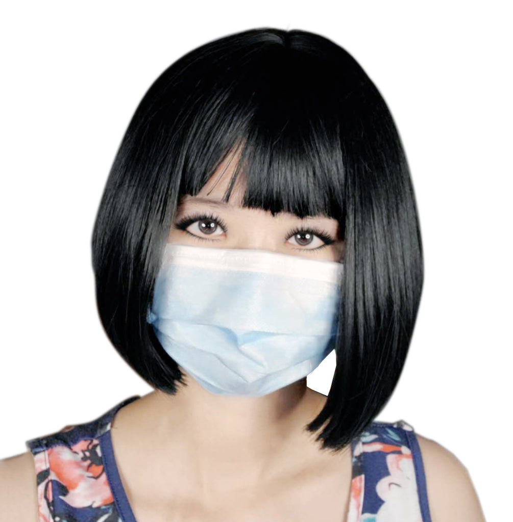P-07 Disposable 3-ply Non-Woven Face Mask - Acubest