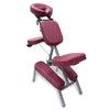 A&A Portable Massage Chair / Burgundy / T-13B