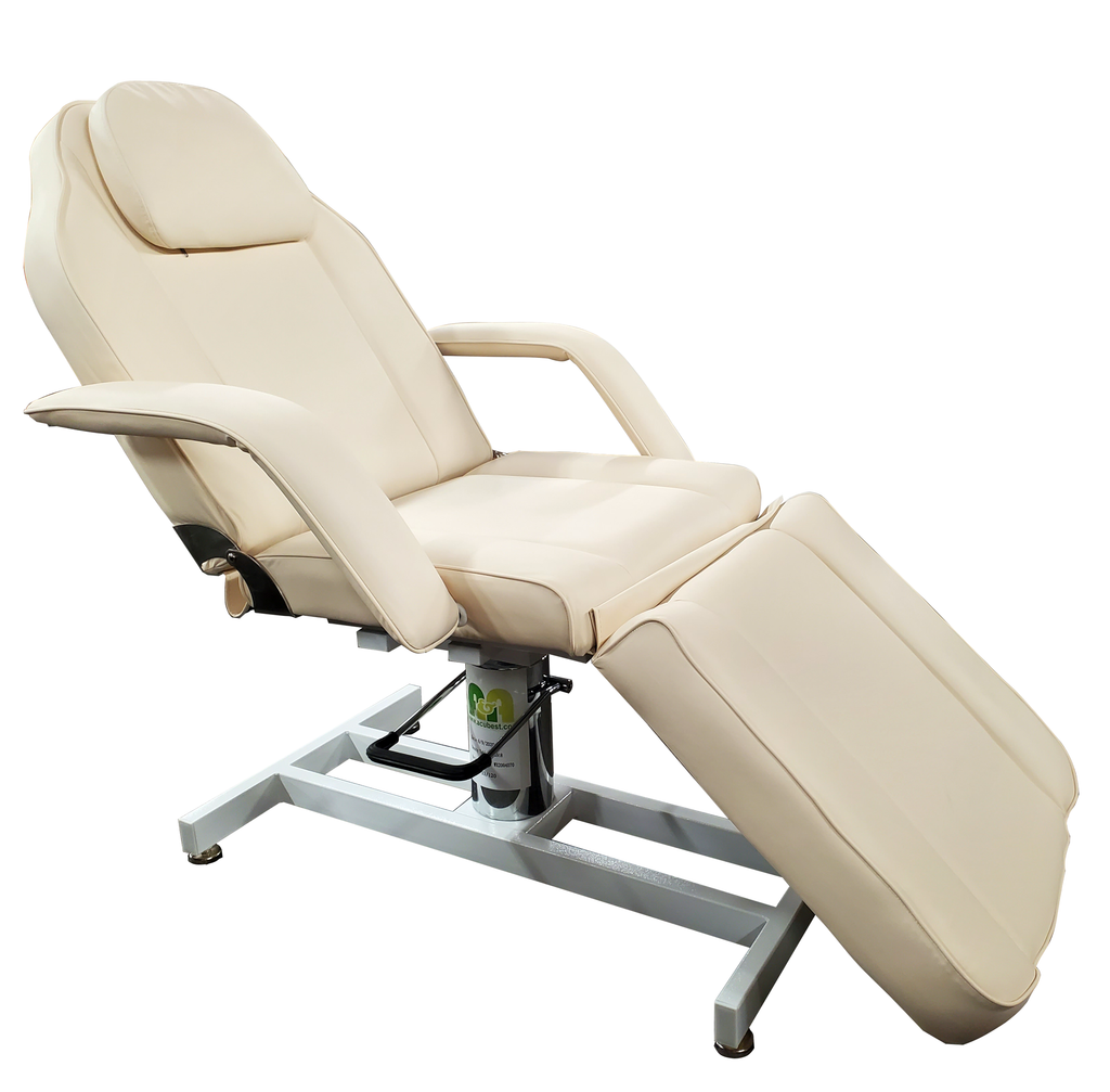 T-22 AA Hydraulic Spa Treatment Table 90 Degree Full Sitting Position (Facial Bed, Chair) - Acubest