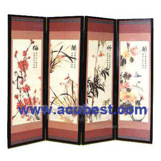 Wood Screen/ Room Divider Screens / Item# T-04A14