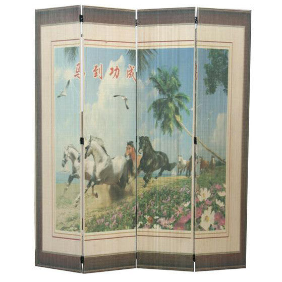 Wood Screen/ Room Divider Screens / Item# T-04A16