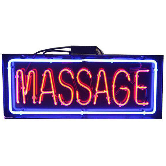 U-43B1 LED Neon Massage sign