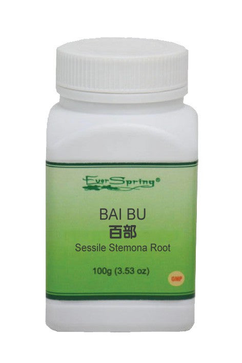 Ever Spring Bai Bu 5:1 Concentrated Herb Powder / Sessile Stemona Root / Y003