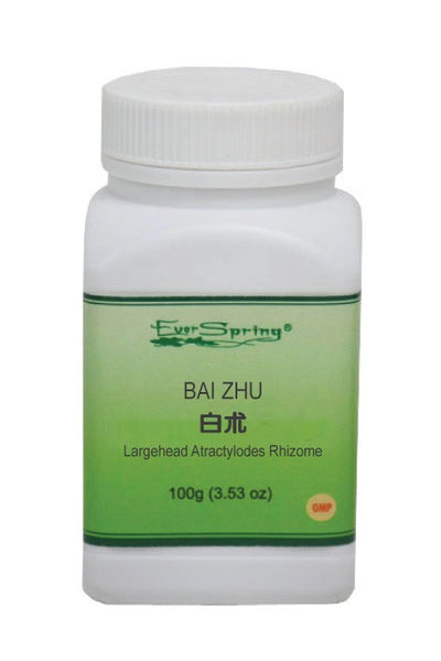 Ever Spring Bai Zhu 5:1 Concentrated Herb Powder / Largehead Atractylodes Rhizome / Y015