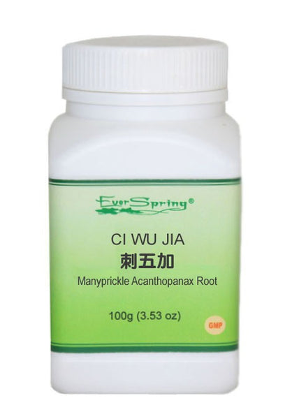 Ever Spring Ci Wu Jia 5:1 Concentrated Herb Powder / Manyprickle Acanthopanax Root / Y041