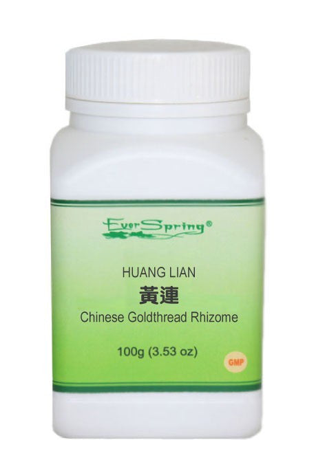 Ever Spring Huang Lian 5:1 Concentrated Herb Powder / Chinese Goldthread Rhizome / Y100