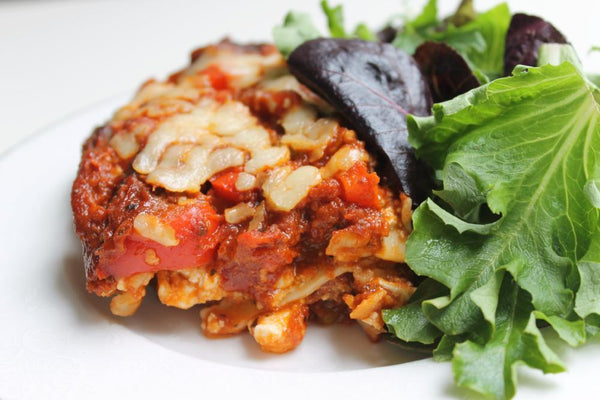 Kathie's Lasagna (Vegetarian Option Available)