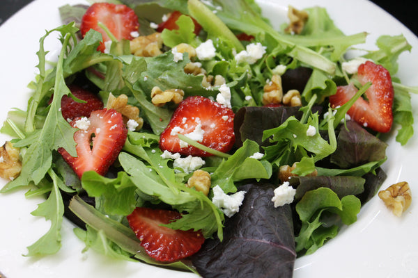 Organic Strawberry and Walnut Salad