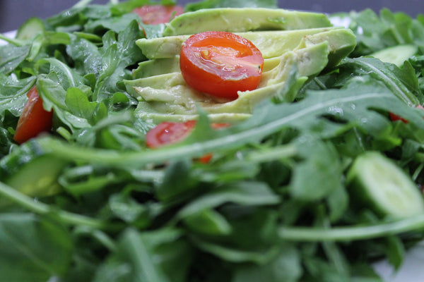 Organic Arugula Salad with Avocado