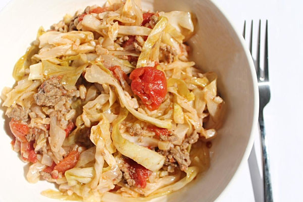 Cabbage Rolls with a Twist