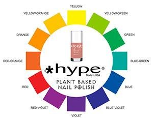Mini-Magazine — Contrasting/Complementing Nail Colors *Hype Nail Polish