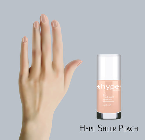 33 Sheer Peach - *Hype Nail Polish