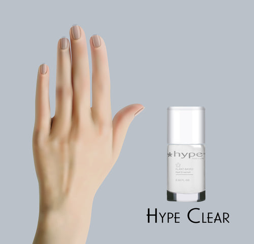 01 Clear - *Hype Nail Polish