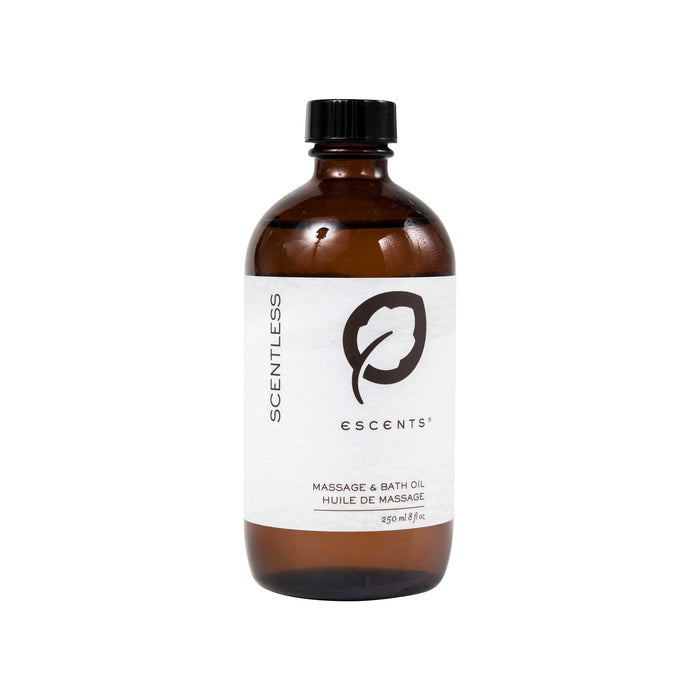 Pure Nourishing Argan Bath Oil  - 250 ml. / 8.4 fl.oz. (Scentless) - Escents Aromatherapy Canada ?id=11856842457133