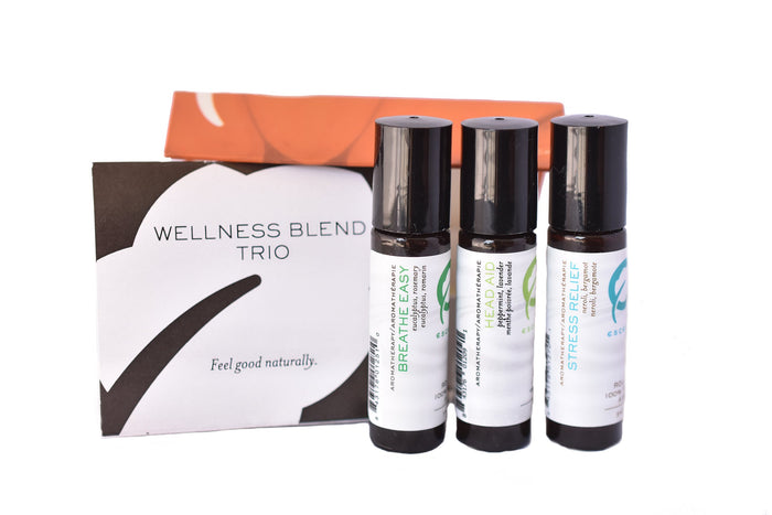 Natural Wellness Roll-On Trio (Breathe Easy) 9ml
