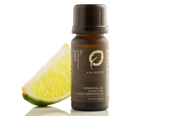 Lime 15 ml / 0.5 fl oz - Escents Aromatherapy Canada