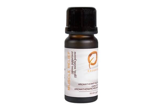 Muscle Relief 15ml - Escents Aromatherapy Canada