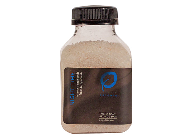 Bath Salt Night Time 250g - Escents Aromatherapy Canada