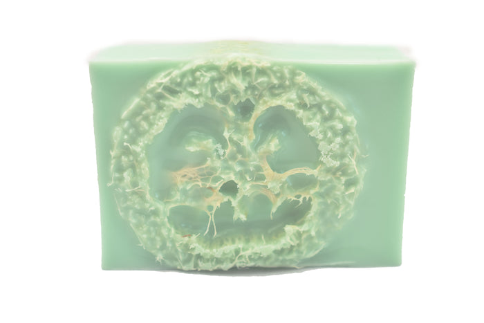 Bar Soap Muscle Relief with Loofah Inside