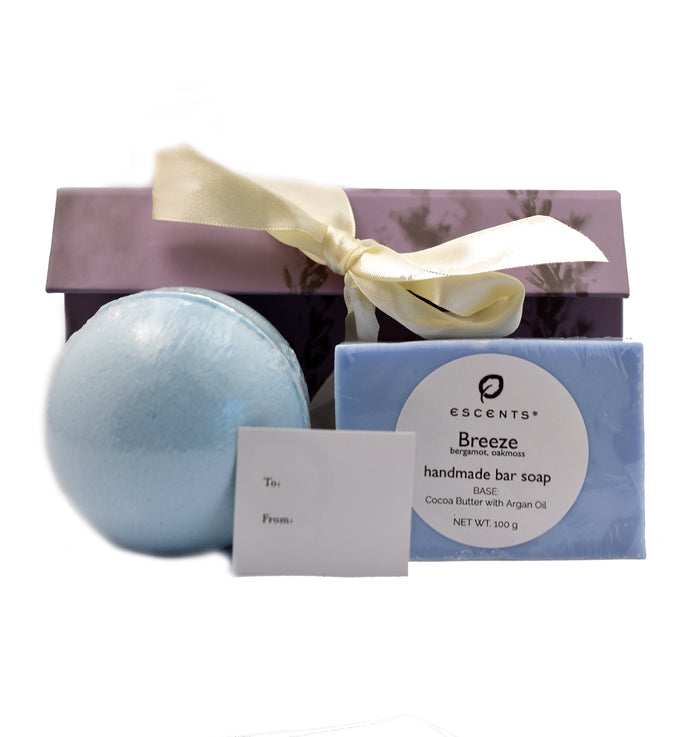 Soap & Bath Bomb Gift Set